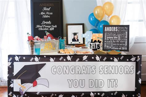 graduation room decorations graduation table with steel tub of drinks deco flickr