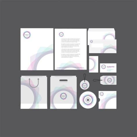 company profile sle design free download spiral company profile vector free download