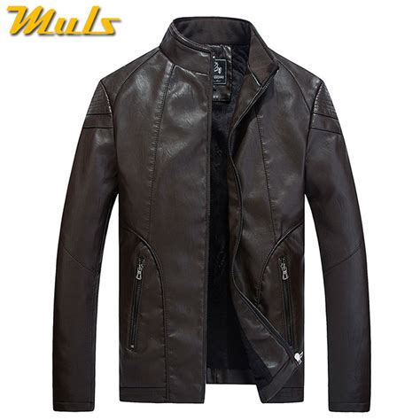 Leather Jaket Exclusive Leather Hoodie aliexpress buy luxury leather jacket skin motorcycle stencil mens fashion brown fitted