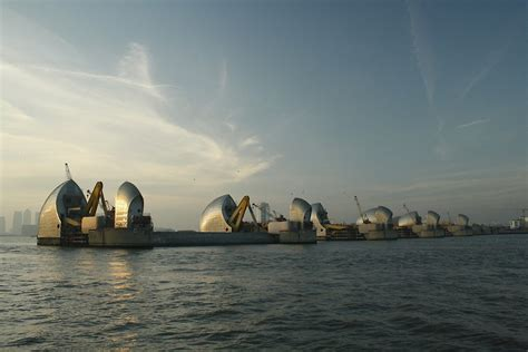 thames barrier print quot thames barrier quot by midnightshadow redbubble