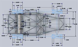 Lotus 7 Frame Plans Pin By Edward Cherkasov On Motor Castom Kit