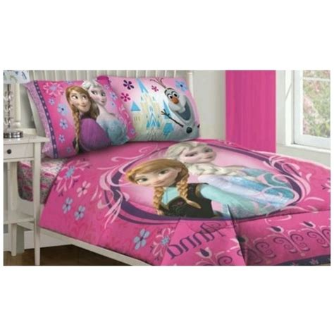 frozen full bed set frozen comforter set twin girls bedding floral sheet full