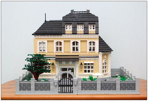 big lego house moc a big family house lego town eurobricks forums