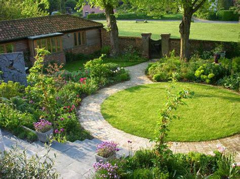 circular garden design for classic outdoor design your