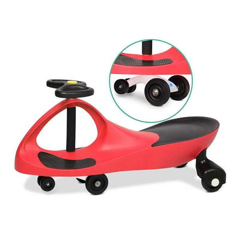 swing car ride on reviews ride on swing car w pedal free design in red 79cm buy