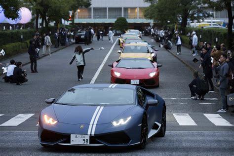 japan lamborghini lamborghini makes five special edition aventador s