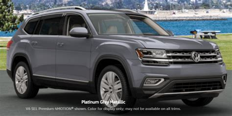 volkswagen atlas colors