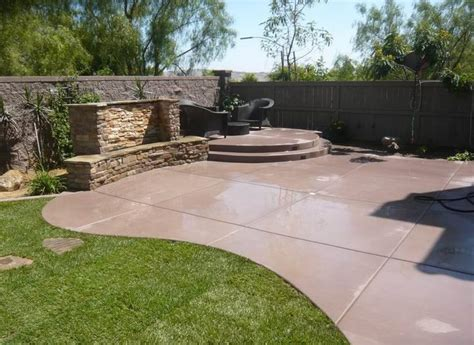 How To Clean Colored Concrete Patio by Design Ideas For Concrete Paving Landscaping Network