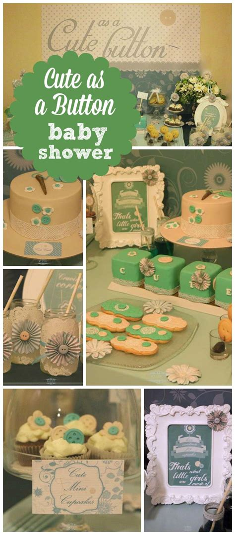 as a button baby shower decorations 1000 images about as a button baby shower on baby shower a button and