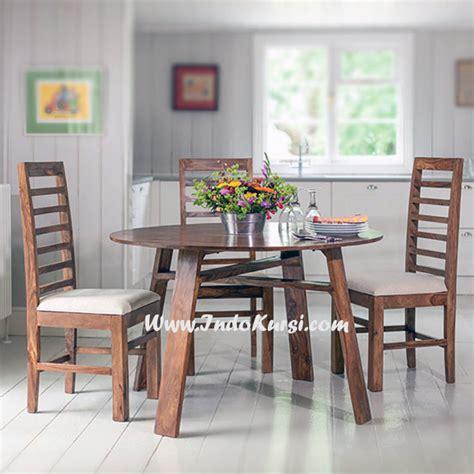 Meja Makan Marmer Bundar meja makan minimalis model bundar indo kursi mebel