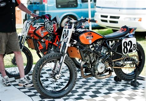 Ktm Tracker Ktm Flat Tracker Motorcycles
