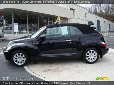 2006 chrysler pt cruiser convertible brilliant black pearl 2006 chrysler pt cruiser