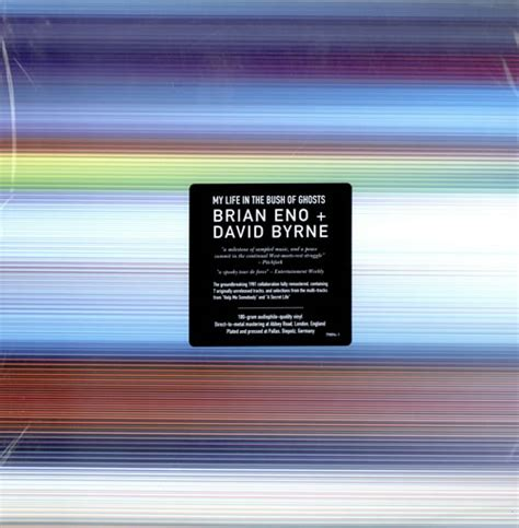 Everything That Happens Will Happen Today Vinyl - brian eno david my in the bush of ghosts