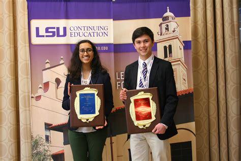 student scientists excel  louisiana science  engineering fair
