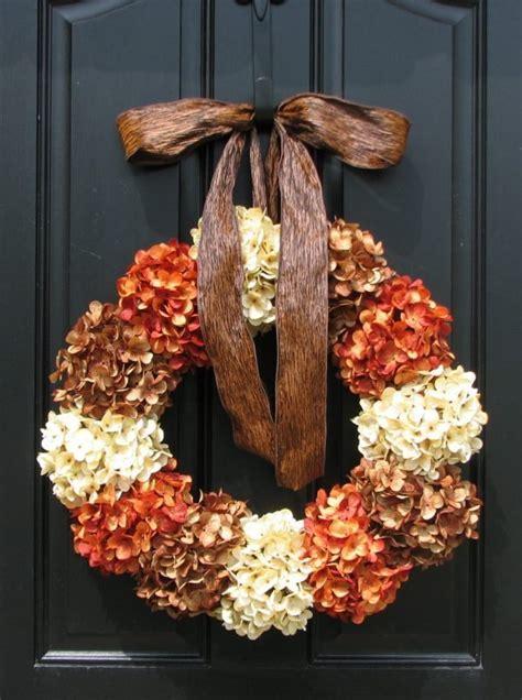 gorgeous diy fall door wreaths  piece