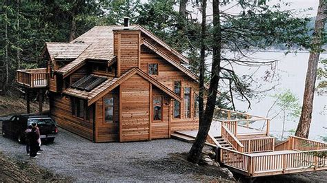 Vacation Home Plans Waterfront by House Plans Waterfront Cabin Waterfront Homes House Plans