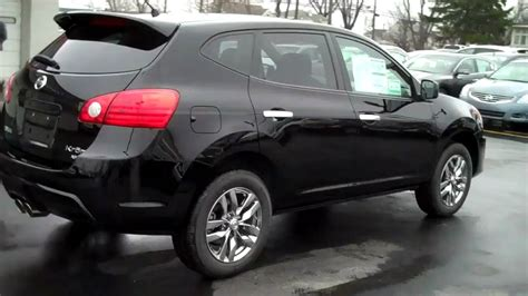 black nissan rogue 2010 rogue krom awd video wicked black 2010 nissan nissan rogue