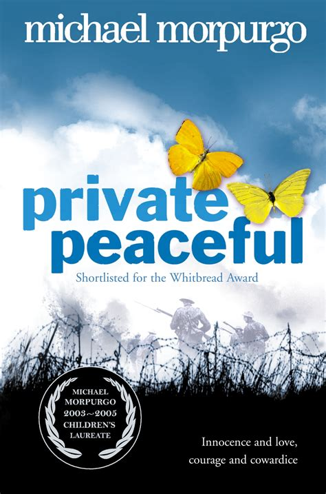0007150075 private peaceful private peaceful by morpurgo michael 9780007150076