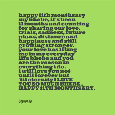 Monthsary Quotes Monthsary Quotes For Boyfriend Quotesgram