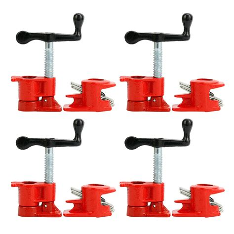 pack  wood gluing pipe clamp set heavy duty pro