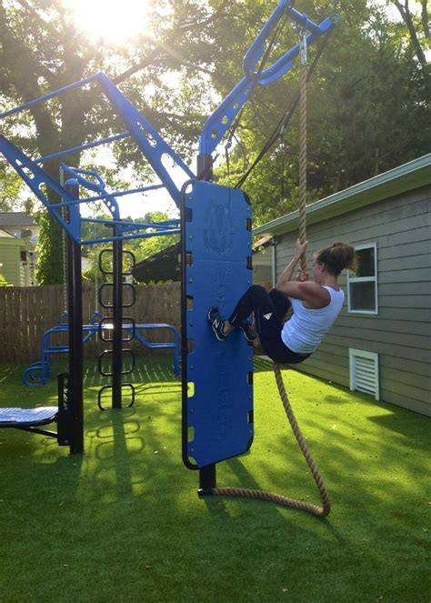 Backyard Climbing Rope by The T Rex Fts Outdoor Limitless