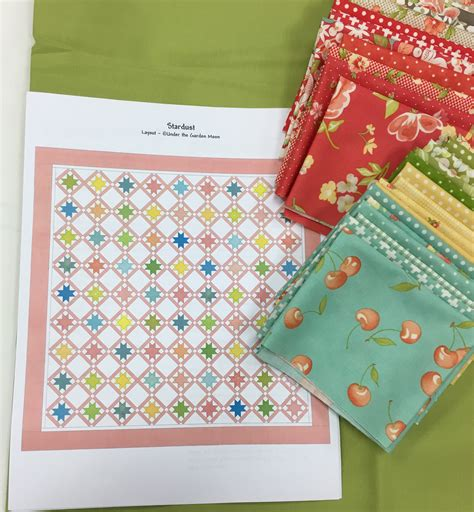 American Quilt Stardust Quilt Kit American Quilting