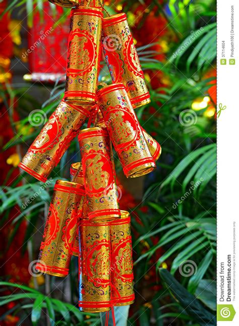 lunar new year golden week crackers stock images image 37114604