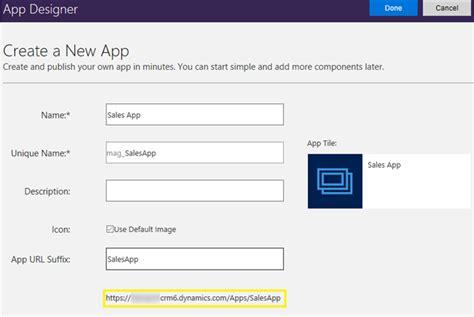 create app how to create app modules using app designer in dynamics