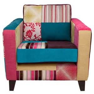 homebase armchairs patchwork armchair from tesco armchairs housetohome co uk