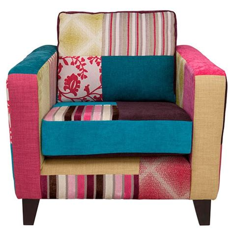 Patchwork Armchairs - patchwork armchair from tesco armchairs housetohome co uk