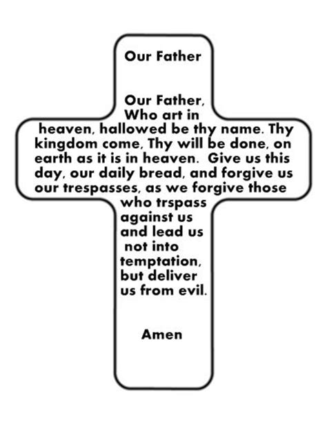 our father coloring page catholic homeschool pinterest