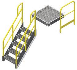 Platform Stairs Design Metal Work Platforms Osha Compliant And Ready To Ship Erectastep