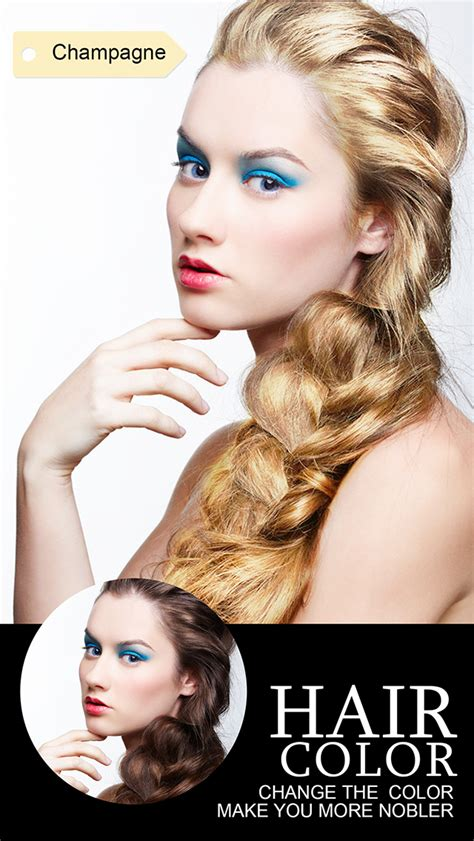 hair apps download hair color dye insta wig beautify splash effects photo