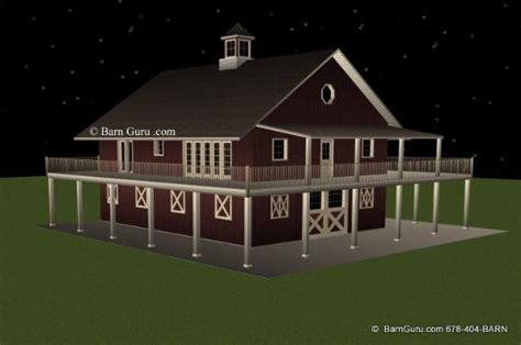 horse barn plans with living quarters 5 stalls 3 5 stall horse barn with living quarters let s see your