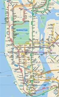 New York Subway Map With Streets by Gallery For Gt Printable New York City Subway Map