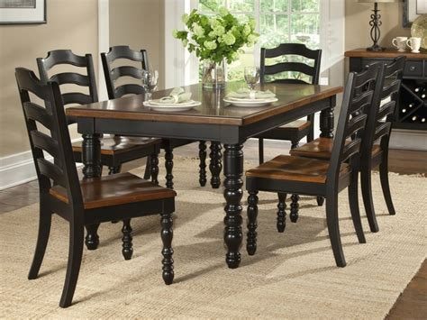dining room set with bench black dining room table sets