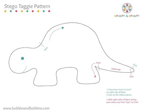 templates for sewing template for stegosaurus counting game make out of fun