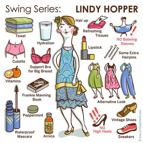swing hop come vestirsi per ballare lindy hop piccolo vademecum per