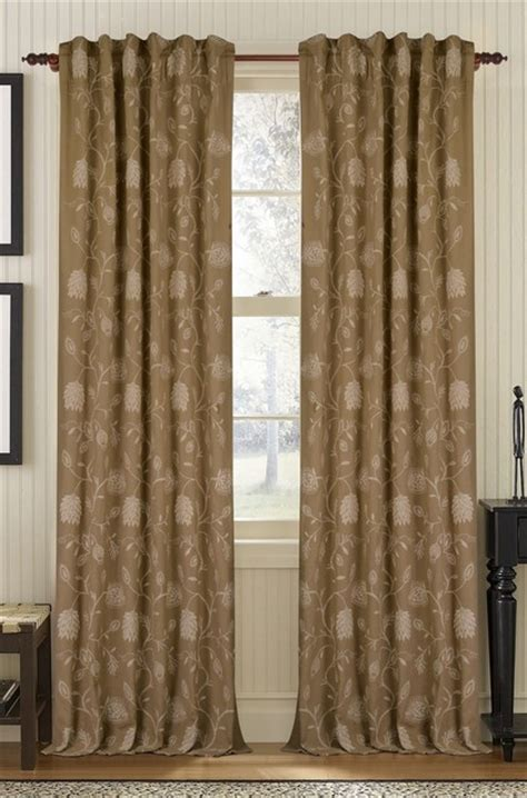 khaki curtains muriel kay blush linen cotton drapery panel khaki