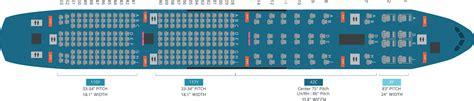 plan si鑒es boeing 777 300er boeing 777 300 seat map my