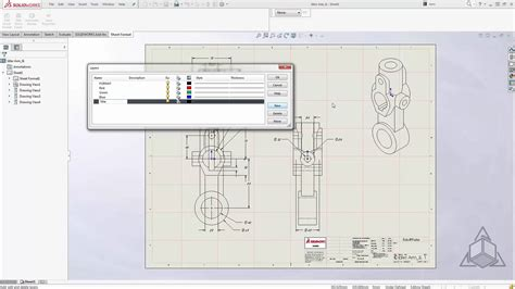 Tech Tip Update Your Drawing Templates With Ease In Solidworks 2016 Youtube Solidworks Drawing Template