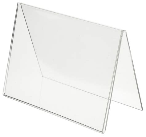 Acrylic Tent Card showcard holder tent card holder single sided
