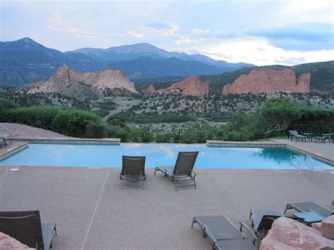 Garden Of The Gods Pool Infinity Pool Picture Of Garden Of The Gods Club And