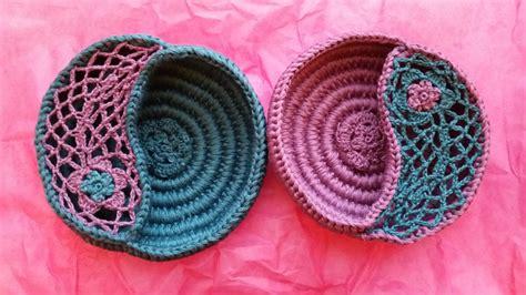 crochet pattern yin yang crochet yin yang bowl free pattern dancox for