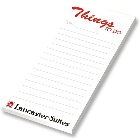 Letter Pad branded notepad uk custom a4 a5 printed note pads bee
