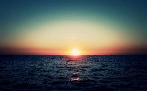 imagenes sol 4k atardecer en el mar fondos de pantalla atardecer en el