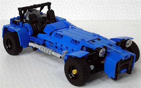 moc rc caterham lotus 7 powered by rc motor