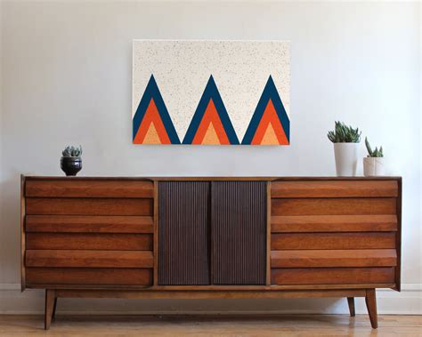 Mid Century Wall Decor Design Decoration