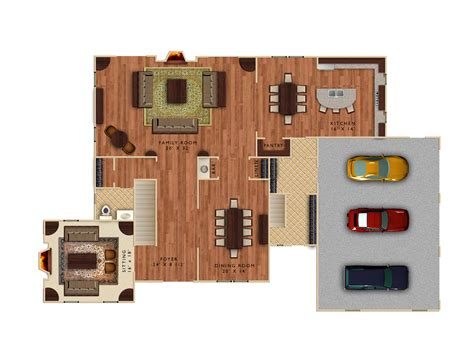 Home Floor Plans With Photos by Ryan W Knope Rendering And Visualization