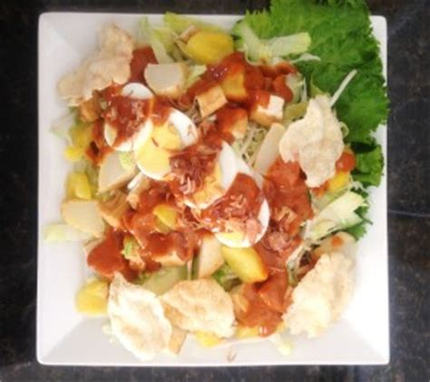 Rujak Pengantin Rujak Penganten Istimewa vegetable dishes sedap indo catering
